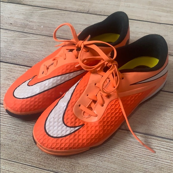 the best attitude 1d9e6 fbff0 Nike HyperVenom Indoor Turf Soccer Cleats Shoes